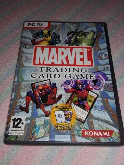 Imagen marvel trading card game