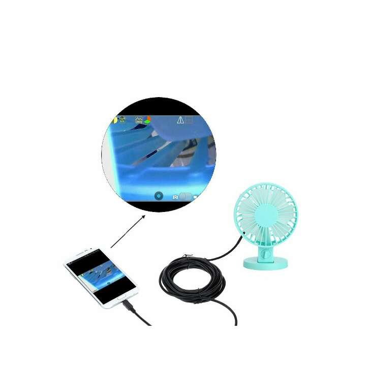 Imagen producto 5.5mm 3.5m Mini Endoscopio USB Digital Cámara de Inspección Brillo Ajustable para Móvil PC 3