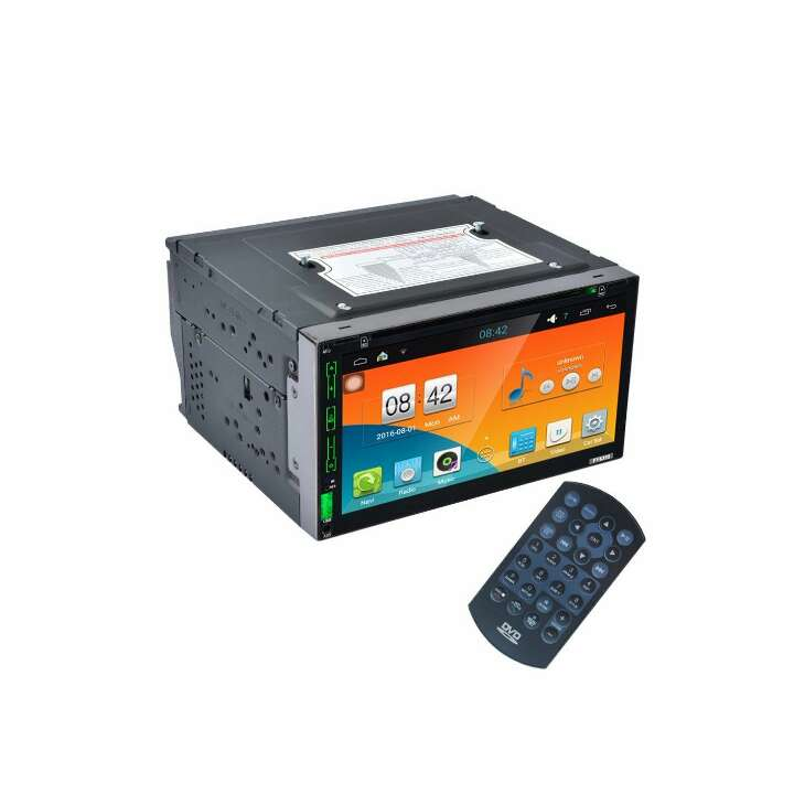 Imagen producto Android 4.4 Stereo Car Dvd Pc reproductor GPS Navi En Dash Navigation unidad central reproductor de vídeo MP3/MP4/GPS/SD/USB/FM/AM Radio estéreo de audio y vídeo 2