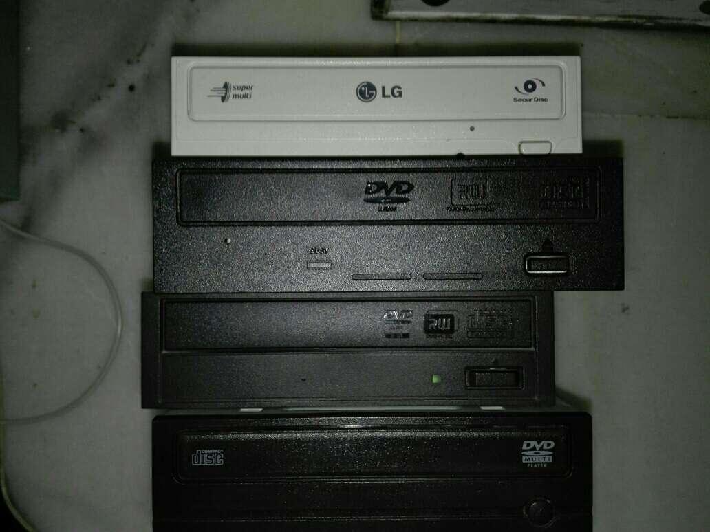Imagen lote DVD grabadoras/lectoras