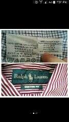 Imagen producto Lote 4 camisas polo lauren T. 38 3