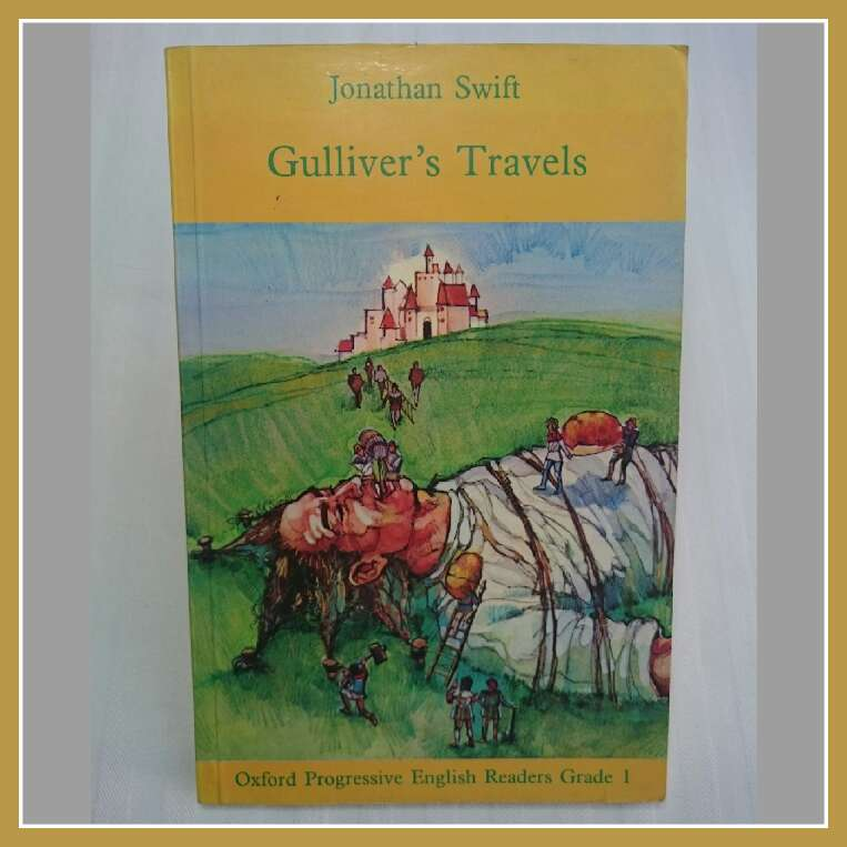 Imagen Cambio Gulliver's Travels libro inglés