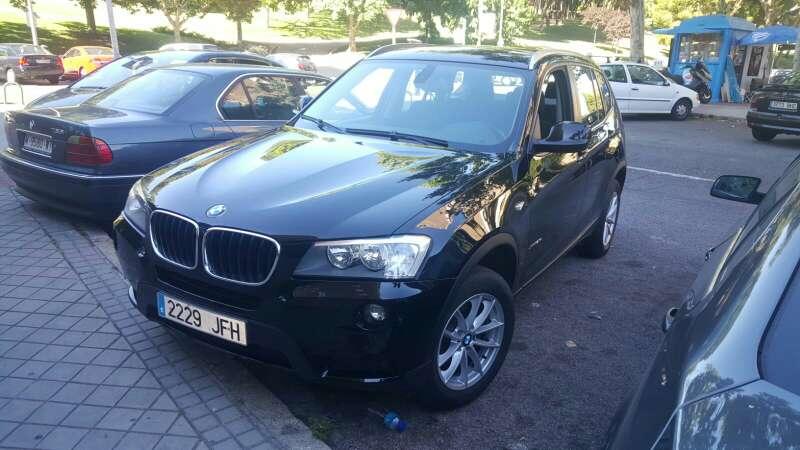 Imagen BMW x3 driver