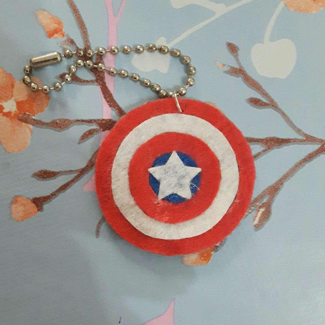 Imagen Llavero Capitán América