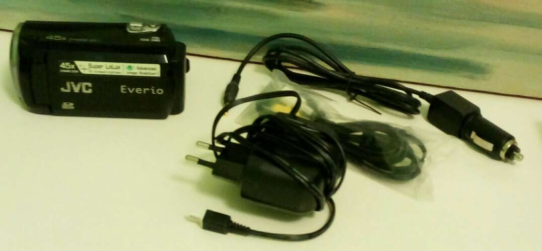 Imagen producto Videocámara digital JVC everio gz ns 110 be 4