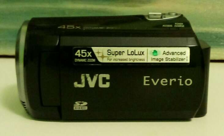 Imagen videocámara digital JVC everio gz ns 110 be
