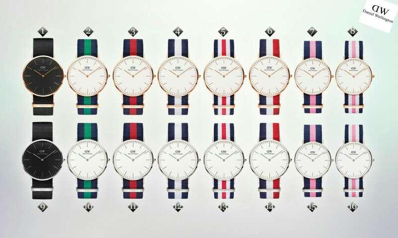 Imagen Reloj Moda Daniel Nuevo