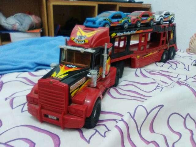 Imagen camion antiguo juguete