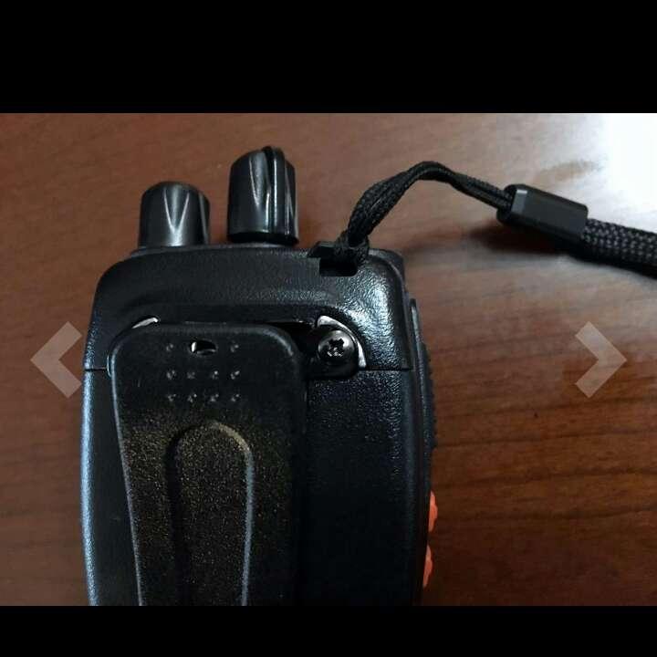 Imagen producto ESYNiC Walkie Talkie de Largo Rango UHF 400-470MHz 16 Canales Linterna LED con Auriculares FM Transceptor Portátil para Sobrevivir en el Campo Ciclismo y Excursionismo 3