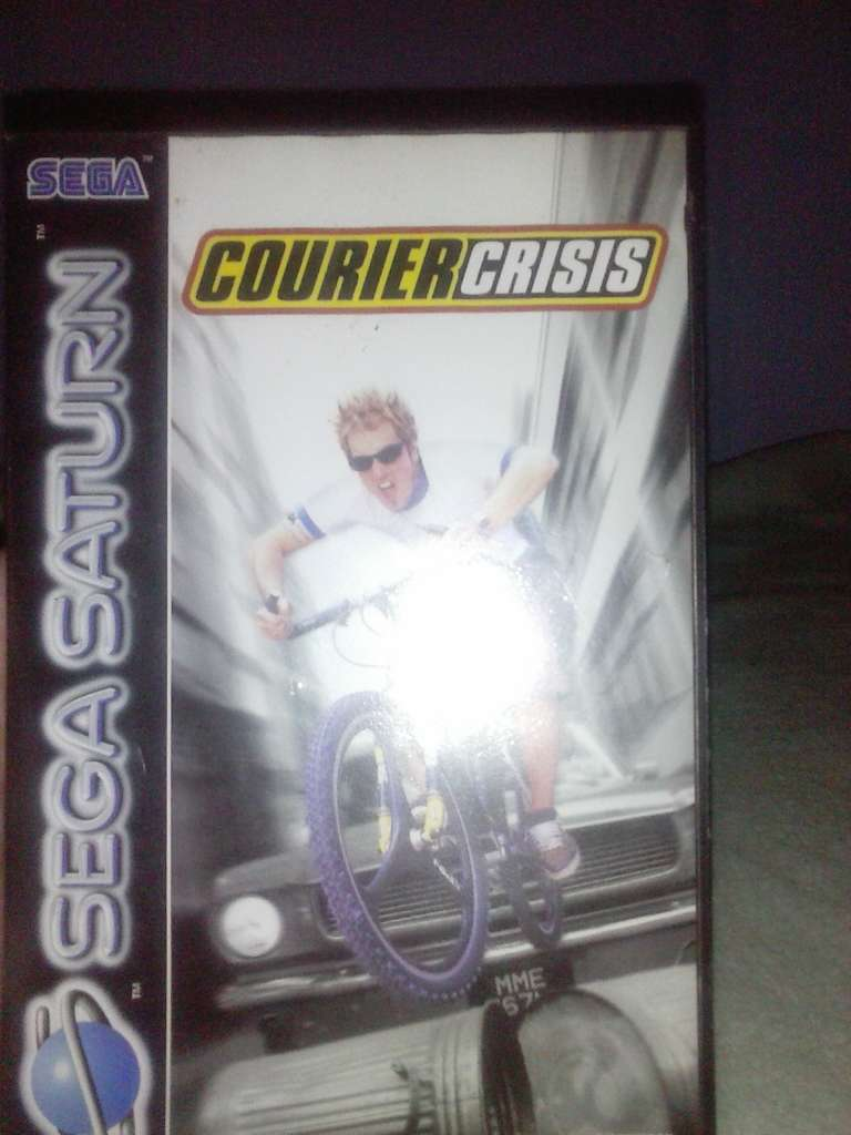 Imagen Courier Crisis - Sega Saturn - PAL