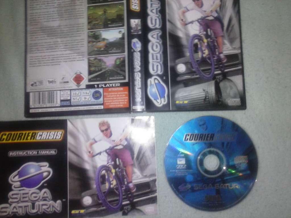 Imagen producto Courier Crisis - Sega Saturn - PAL 2