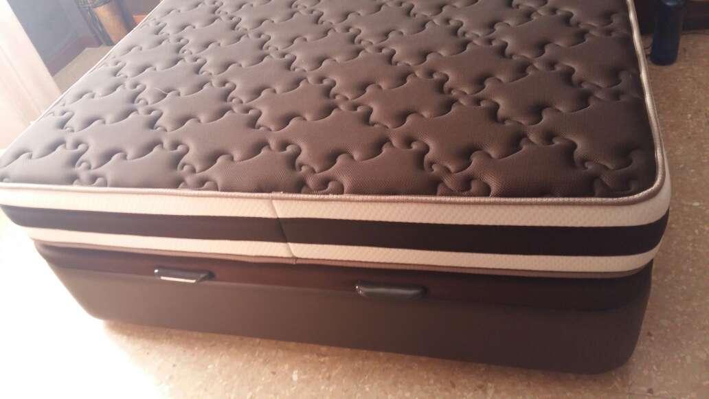 Imagen Cama-canapé con colchón 150cm