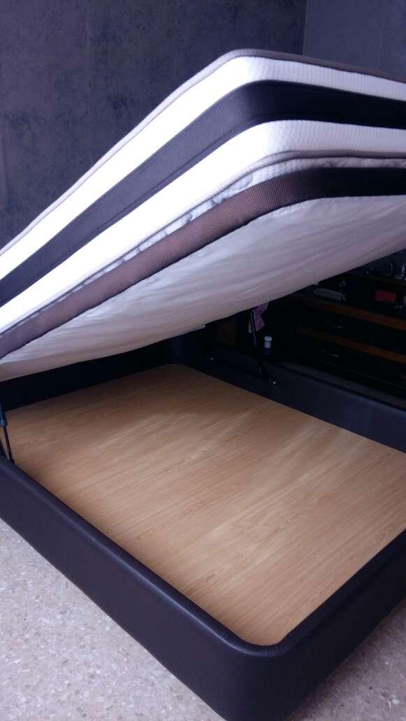 Imagen producto Cama-canapé con colchón 150cm  2