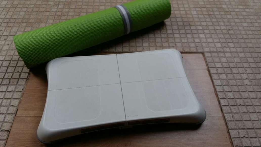 Imagen alfombra y tabla Wii