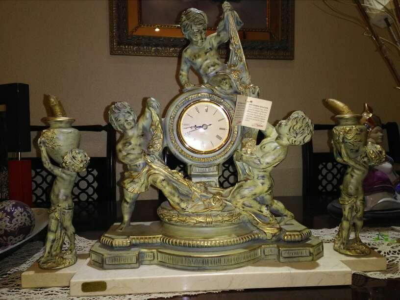 Imagen producto Reloj de candelabros 1