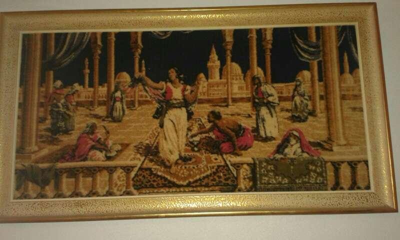 Imagen tapiz antiguo