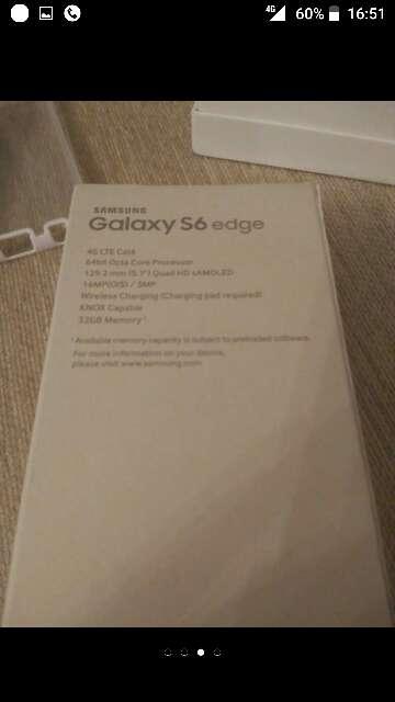 Imagen producto Samsung Galaxy S6 Edge.Libre.Sin estrenar. 3