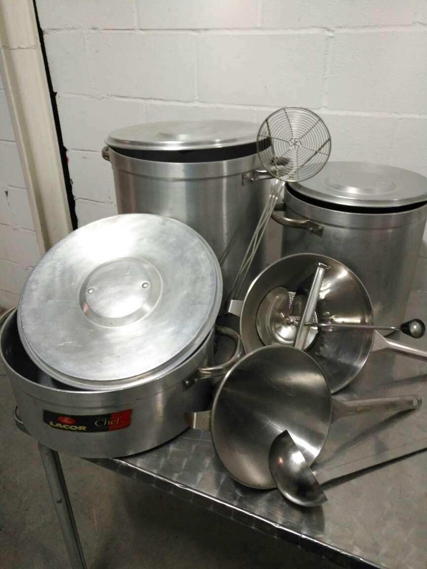 Imagen vendo utensilios de hostelería