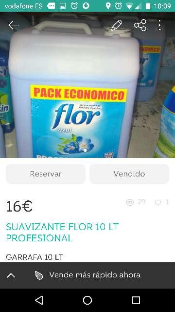 Imagen Suavizante Flor 10 lt