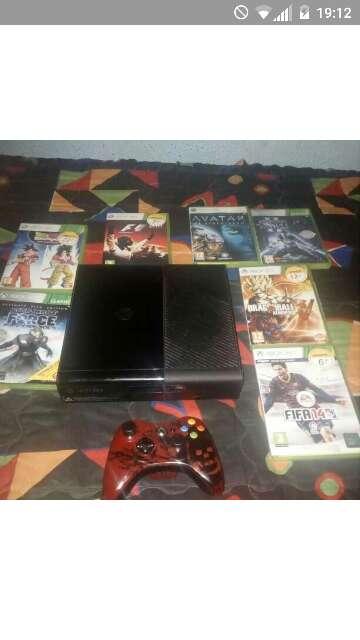 Imagen xbox 360 y juegos