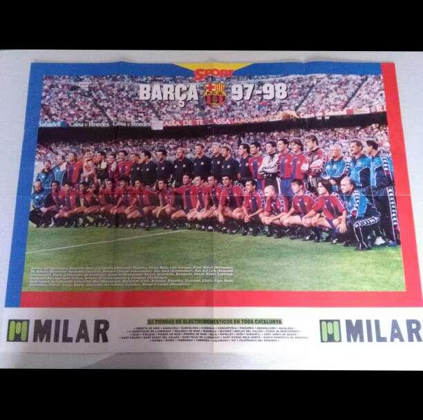 Imagen Poster Barca