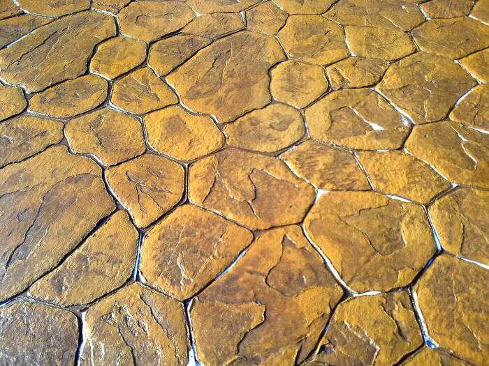 Imagen pavimento hormigón impreso y pulido