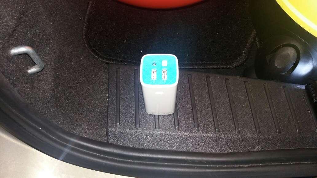 Imagen cargador portatil