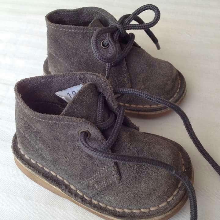 Imagen producto Vestido gris ZARA BABY y botas serraje  3