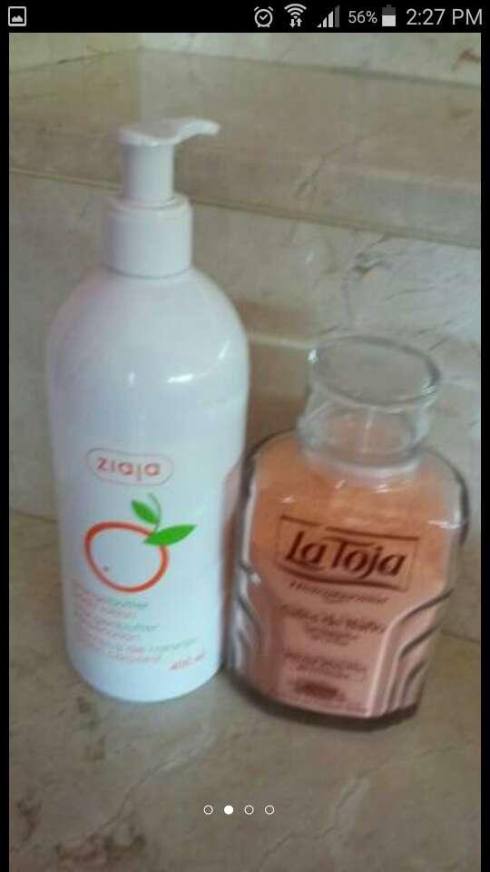 Imagen producto Cesta con productos baño 3