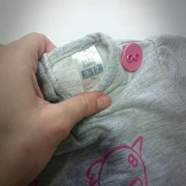Imagen producto Vestido gris ZARA BABY y botas serraje  4