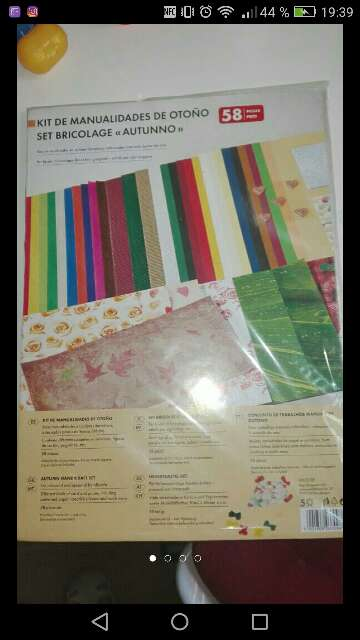Imagen kit de manualidades
