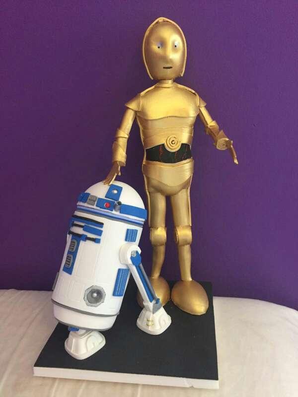 Imagen Fofucha Star Wars R2-D2 / C-3PO