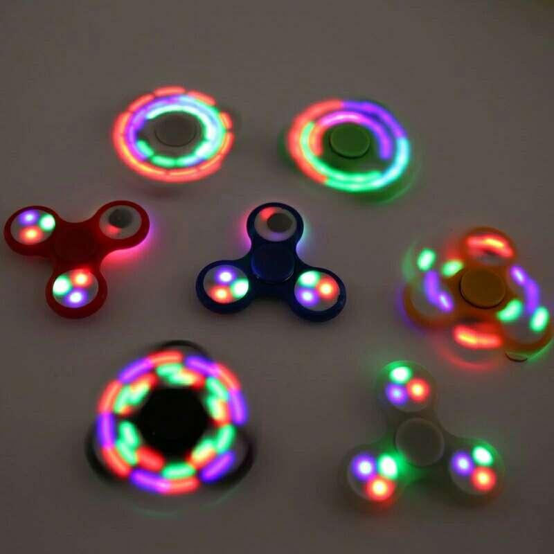 Imagen Fidget Spinner con luz led