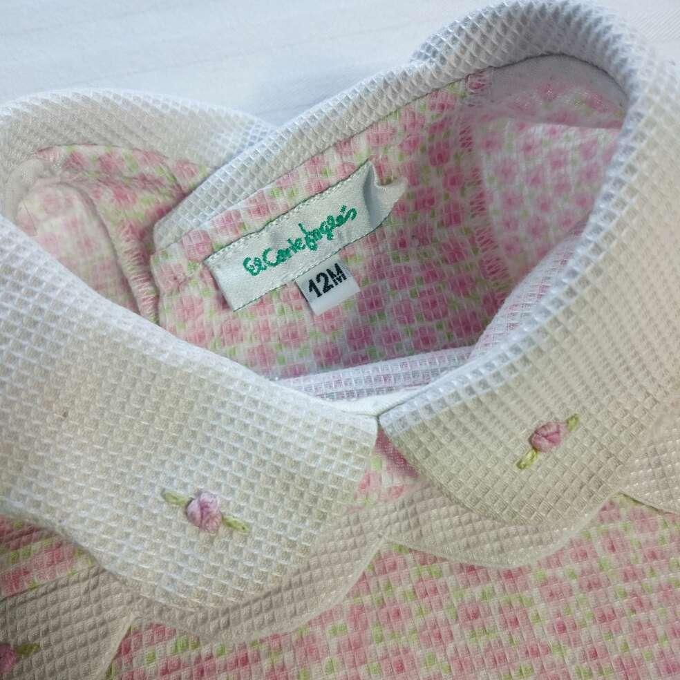 Imagen producto Corte Inglés Vestido flores bebé  2
