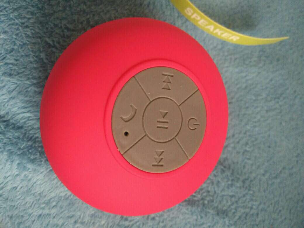 Imagen producto Altavoz Bluetooth Ducha Rosa 1