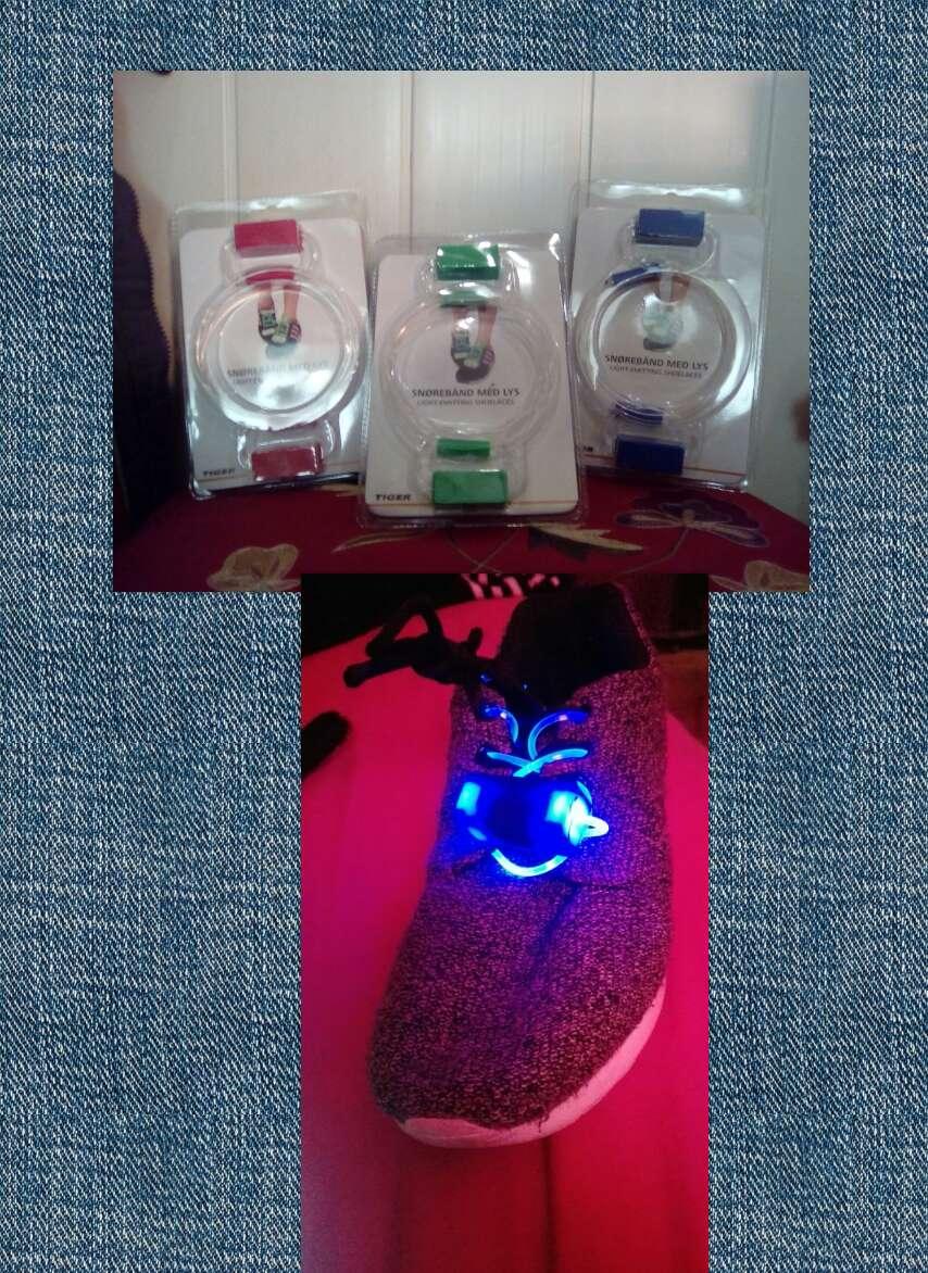 Imagen producto Cordones zapatillas con luz 2