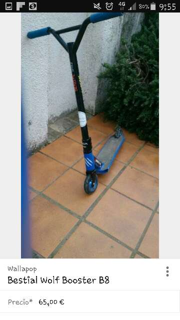 Imagen producto Scooter bestial Wolf boster b8 1