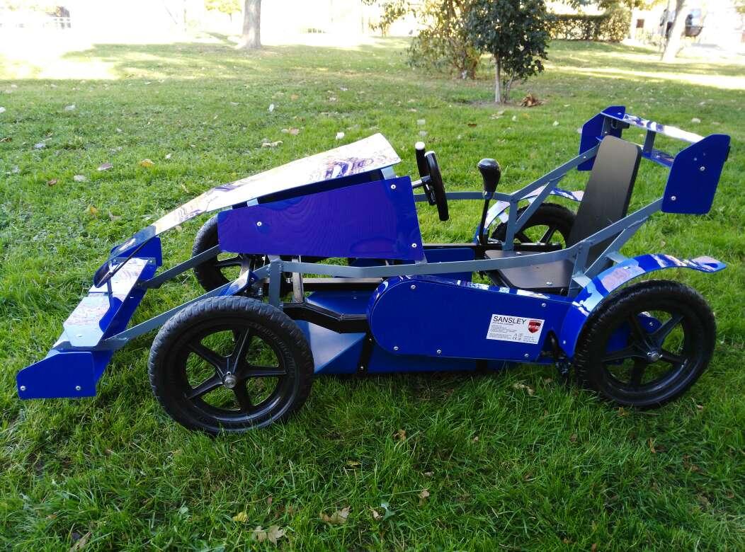 Imagen producto Oferta coche nuevo a pedales para niños 3 a 6 años 2