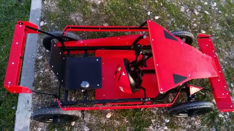 Imagen producto Oferta coche nuevo a pedales para niños 3 a 6 años 4