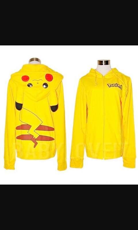 Imagen chaqueta Pikachu pokemon.anime manga