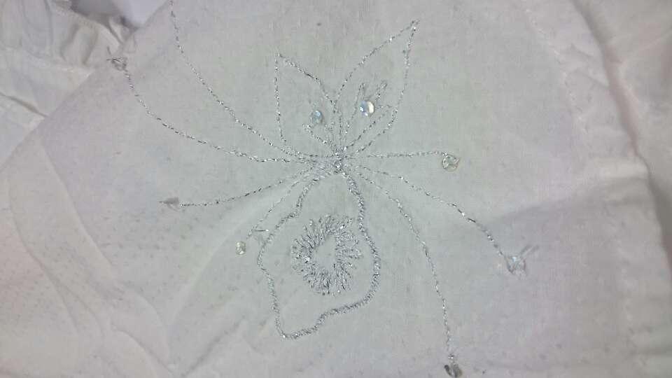 Imagen producto ORCHESTRA Vestido fiesta lino blanco  2