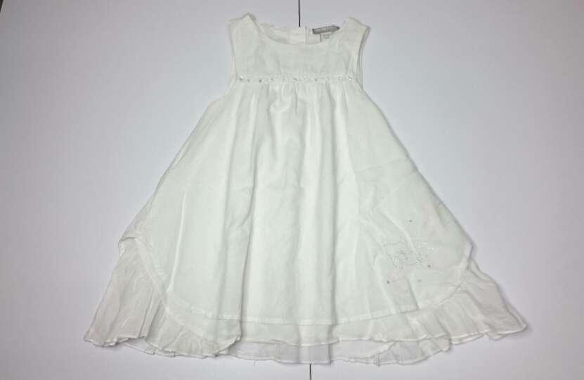Imagen ORCHESTRA Vestido fiesta lino blanco