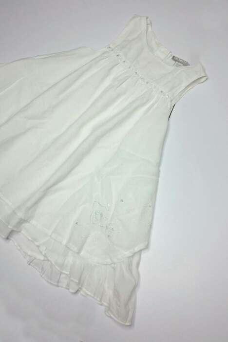 Imagen producto ORCHESTRA Vestido fiesta lino blanco  3