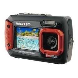 Imagen Cámara acuatica Swiss-Pro rojo doble pantalla