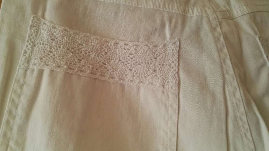 Imagen producto Pantalón blanco lino 3