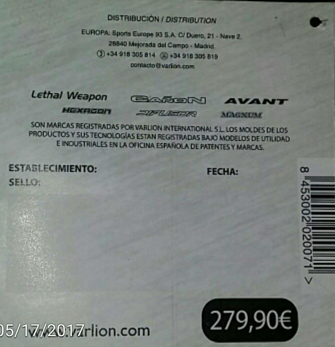 Imagen producto Varlion mod;HexagoncañonTi. Edición limitada. (precio negociable) 4