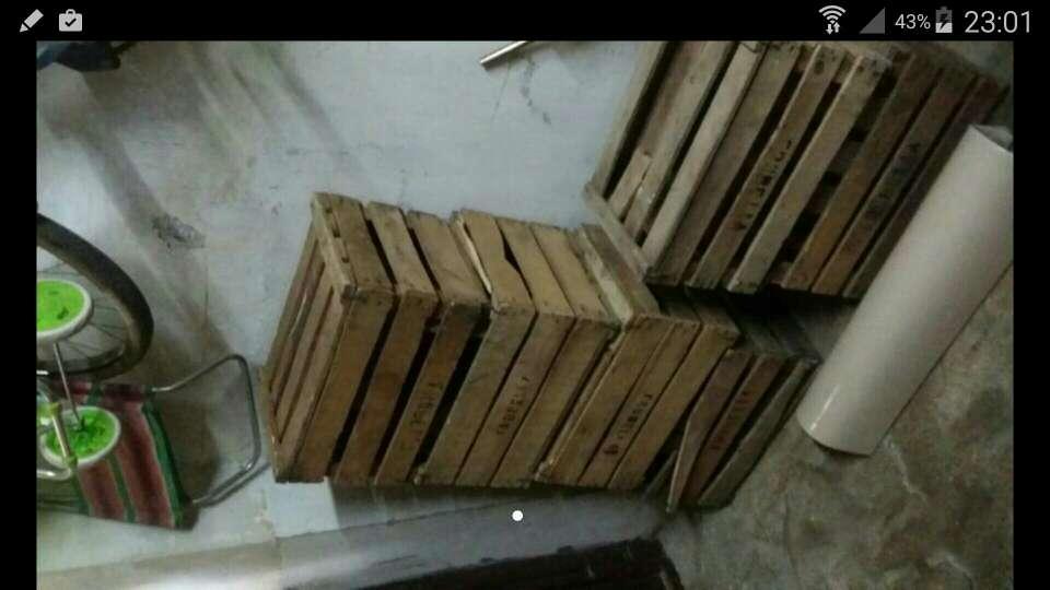 Imagen barquillas madera