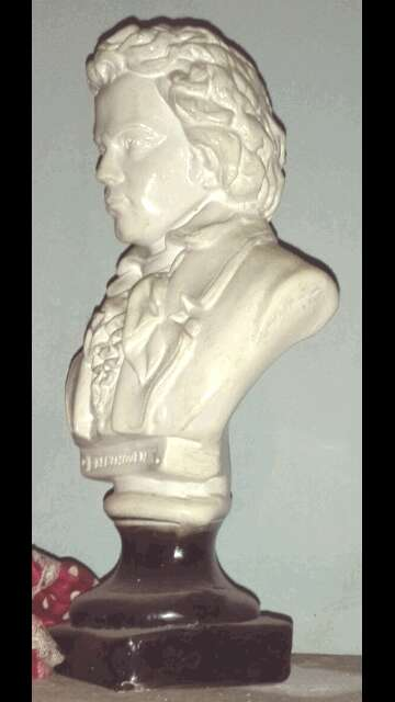 Imagen Se vende figura Bethoveen antigua