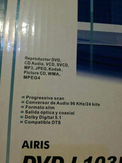 Imagen DVD AIRIS a estrenar