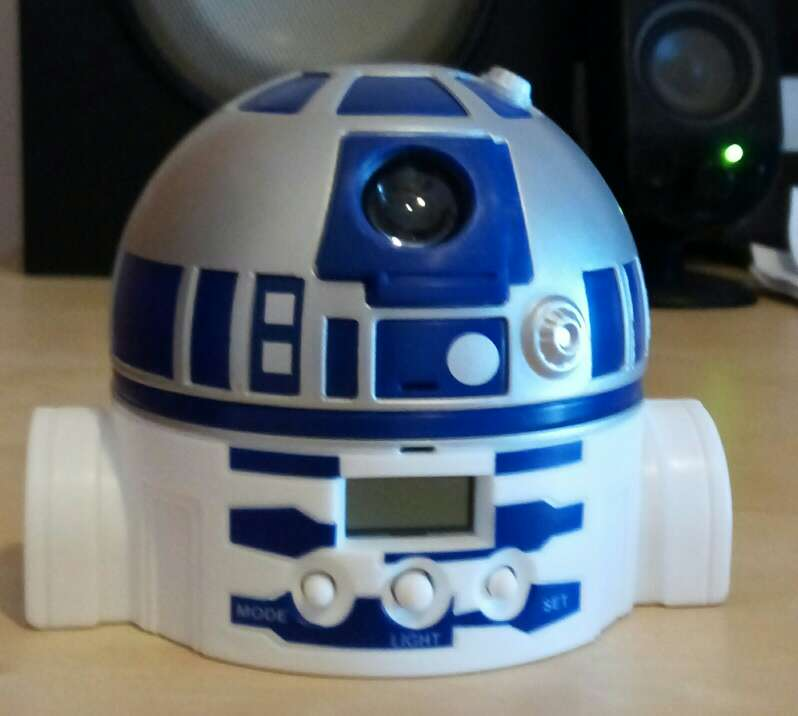 Imagen Reloj despertador star wars
